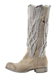 TWIN-SET.  It will be my mission to find and house them in my collection. Knits and boot!  Two of my favorite things.