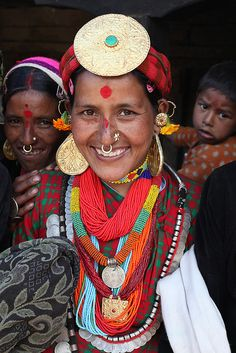 Nepal | Thakuri Woman at the Dobado Festival, Humla | © Chris Lombardi