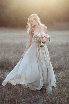 bridal portrait - love the dress