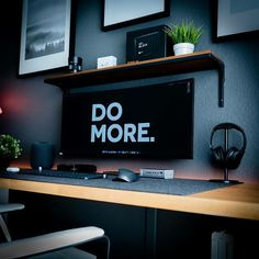 Do you work from home? We've compiled the best office desk setup ideas, ergonomic desk setups, and gaming setup for you, featuring the best ergonomic mouse for big and large hands! All images were sourced. Computer Desk Setup, Gaming Room Setup, Pc Setup, Computer Desk Organization, Laptop Desk, Home Office Setup, Home Office Space, Home Office Design, Small Office
