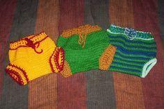 Free crochet pattern for wool cloth diaper soaker
