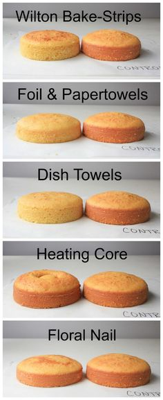 Comparison of Methods/Products for Flat Cakes