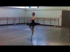 Black Swan Rehearsal , Ana Sophia Scheller