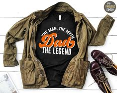 Funny Dad Shirt The Man The Myth The Legend Funny Dad Gift   Etsy Funny Dad Shirts, Funny Gifts For Dad, Dad To Be Shirts, Funny Fathers Day, Fathers Day Gifts, Uncle Gifts, Grandpa Gifts, Grandpa Birthday Gifts, Dad Birthday