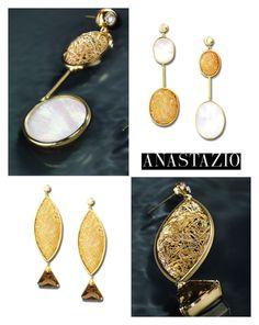 """Anastazio-earrings"" by anastazio-kotsopoulos ❤ liked on Polyvore featuring Anastazio"