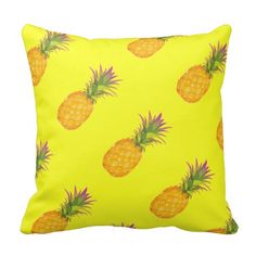 Pineapples - Tropical Pillow