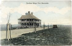 https://flic.kr/p/PU991X | The Pavilion, King's Park, Bournemouth, Dorset | Published by J F Lovell, Boscombe. Postmarked Bournemouth, 1905.