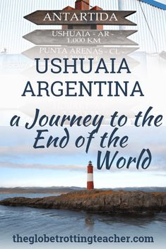 Ushuaia Argentina: Journey to the End of the World - Use this Ushuaia travel guide to plan your trip whether you're traveling in Patagonia or taking a cruise to Antarctica. Travel Tips Tips Travel Guide Hacks packing tour Europe Travel Tips, Travel Guide, Travel Hacks, Travel Packing, Europe Packing, Fun Travel, Traveling Europe, Backpacking Europe, Packing Lists