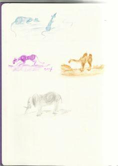 Bolletjes tekenen, dierkunde, 4e klas