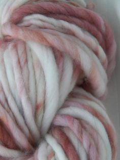 OUTLAW Maggie's WHITE tee Hand spun and Hand Dyed by BareSheepYarn, $12.25