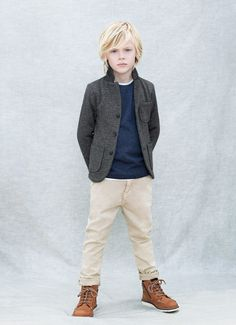 Zara Kids clothing collection - look for jacket at goodwill! Fashion Kids, Little Boy Fashion, Fashion Fashion, Fashion Boots, Trendy Fashion, Kids Cuts, Boy Hairstyles, Boy Haircuts, Braided Hairstyles