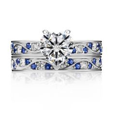 (Processing Time: 30 Working Days)925 Sterling Silver Heart-shaped CZ Inlaid Engagement Ring Set