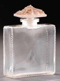 Lalique Perfume Bottle Fleurs De France