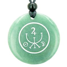 Purchase Universe Ancient Money Sigil Talisman Green Aventurine Magic Gemstone Circle Good Luck Powers Pendant Necklace from BestAmulets on OpenSky. Share and compare all Jewelry. Sigil Magic, Magic Symbols, Magic Spells, Ancient Symbols, Luck Spells, Money Spells, Sacred Symbols, Tarot Cards For Beginners, Green Quartz