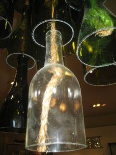 Cut wine bottles