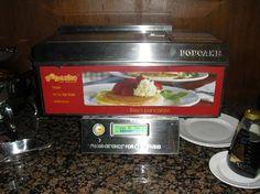 Automatic Pancake Machine at Breakfast Buffet Holiday Inn Picadilly