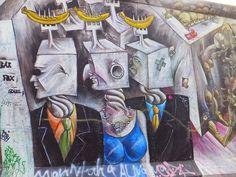 #East #Side #Gallery  #Streetart #Berlin #Arte #Callejero #Murales #Peintures #Artderue #Oberbaumbrücke elisaorigami.blogspot.com