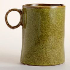 Have two now.  LOVE them!  One of my favorite discoveries at WorldMarket.com: Green Reactive Glaze Mugs, Set of 2