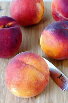 How to Peel a Peach