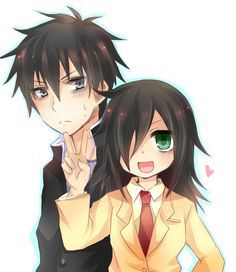 Watamote: Tomoki and Tomoko Kuroki.....again