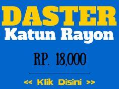 Daster Katun Rayon