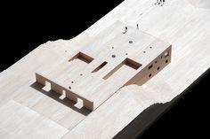 House in Zahara by estudio campo baeza,  maquette, architectural model, maqueta…