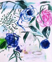 Fuschia Rose by Zatista