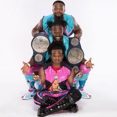 From Asuka's historic run as NXT Women's Champion to Kyle O'Reilly & Bobby Fish winning the NXT Tag Team Championship, see photos of every single title reign in WWE from The New Day Wwe, New Wwe Champion, Bobby Fish, Wrestlemania 35, Wwe Champions, Royal Rumble, Wwe Photos, Black History Month, Wwe Superstars