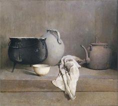 Study in Grey - Emil Carlsen (Danish-American: 1853-1932)