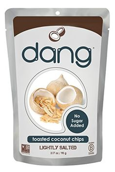 Dang Gluten Free Toasted Coconut Chips Lighltly Salted Unsweetened 317 Ounce Bags * You can get additional details at the image link. (Note:Amazon affiliate link)