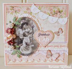Mariannes papirverden.: Sweet Baby - Pion Design
