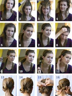 How to style a low bow bun