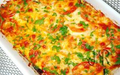 Romanian Food, Jamie Oliver, Baby Food Recipes, Vegetable Pizza, Quiche, Broccoli, Mashed Potatoes, Food To Make, Ale