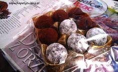 Czekoladowe pralinki z likierem Baileys #chocolate #Baileys #polishfood #foodblog #polishgirl #zapachapetytu