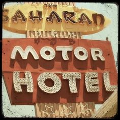 Vintage hotel photograph
