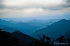 The Far Blue Mountains - Louis Lamour was a fan! Blue Ridge Parkway - North Carolina