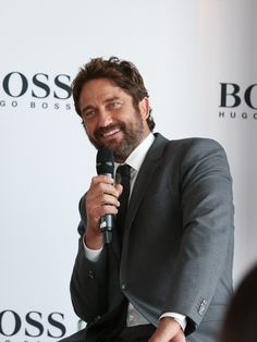 Entertain This: Gerard Butler is new face of Boss Bottled perfume USA Today - Photo by Boss