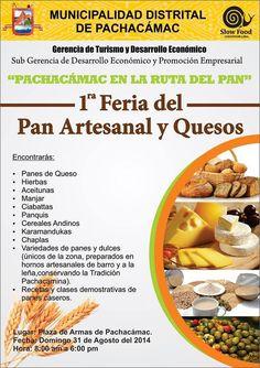 1ra Feria del Pan Artesanal y Quesos  en Pachacámac 2014