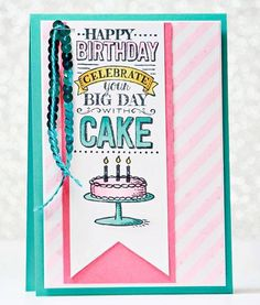 Stampin' Up!, birthday cards, DIY, hand made, home made, paper crafts, Irresistibly Yours, Big Day