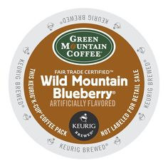 Green Mountain Wild Mountain Blueberry Coffee K-Cup® Pod