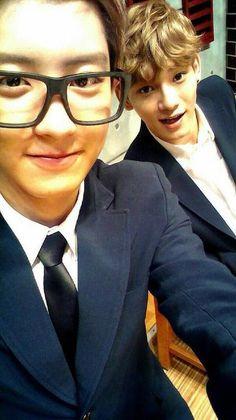 EXO Chanyeol & Chen <3