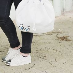 Open your eyes there is beauty everywhere. #openyoureyes #enjoylife Like #SummerSale 😉. Shop this beautiful #backpack WEIRD with 30% off. 👀 #white #PICARD #picardbag #sneakers #summer #happy #fashionlover #blackandwhite #eyes #bigeyes