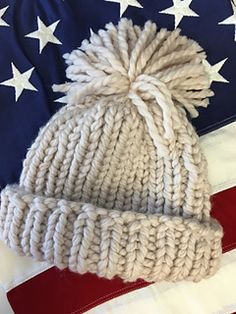 Inspired by Chloe Kim's Gold medal win in the Women's snowboard halfpipe at the Olympics. Here is mock up of the darling hat that she wore showing off the American flag.