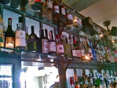 Maison Premiere, Brooklyn. Probably the biggest and best absinthe selection in the USA. I am dying to go there!