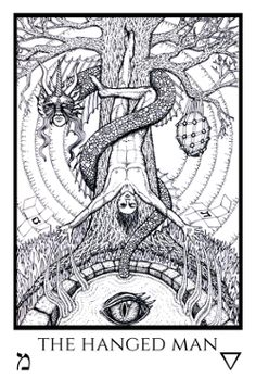 Tabula Mundi Tarot Nox et Lux is the full edition of the Tabula Mundi Tarot, from the artist of the Rosetta Tarot. It has 78 black and white, Thoth-inspired cards based on the Golden Dawn teachings as in Book T.