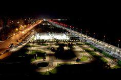Νέα Παραλία - ανατολικά - τη νύχτα Macedonia Greece, Photo Walk, Thessaloniki, Marina Bay Sands, Daydream, The Past, Culture, History, City