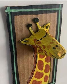School Art Projects, Projects For Kids, Diy For Kids, Craft Projects, Fun Crafts, Arts And Crafts, Paper Crafts, Egg Carton Crafts, Cardboard Art
