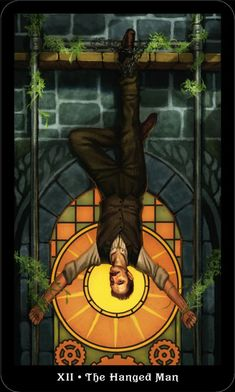 Hanged Man Tarot, The Hanged Man, Steampunk, Pet Psychic, Tarot Significado, Barbara Moore, All Tarot Cards, Tarot Major Arcana, Romance