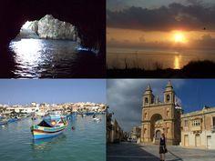 Blaue Grotte und Marsaxlokk, Malta