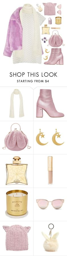 """snow princess"" by timeak ❤ liked on Polyvore featuring The Elder Statesman, Laurence Dacade, Hermès, Dolce&Gabbana, Tom Dixon, LMNT, Eugenia Kim and Forever 21"